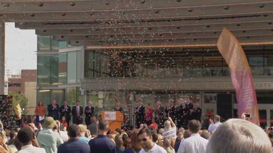 After 25 years of planning, construction and fundraising, the Dr. Phillips Center for the Performing Arts finally opened its doors on Thursday.