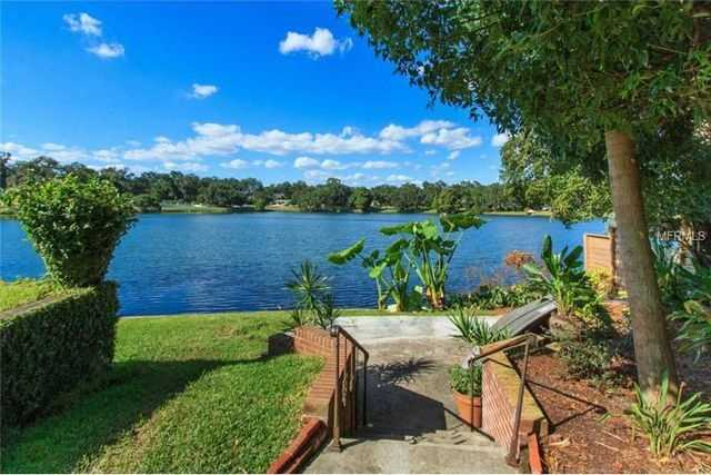 The property is situated on the shores of Lake Ivanhoe.