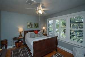 Second floor bedroom suite.
