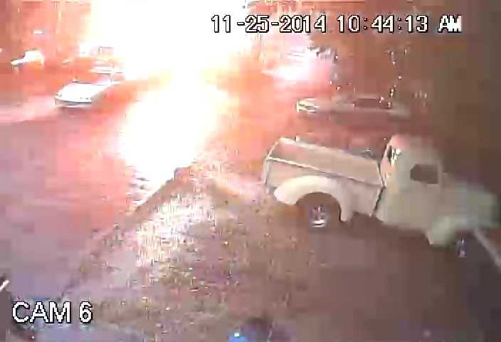 Lightning strike captured on surveillance at Royal Tire & Air in Daytona Beach.UPLOAD YOUR PHOTOS ON U LOCAL