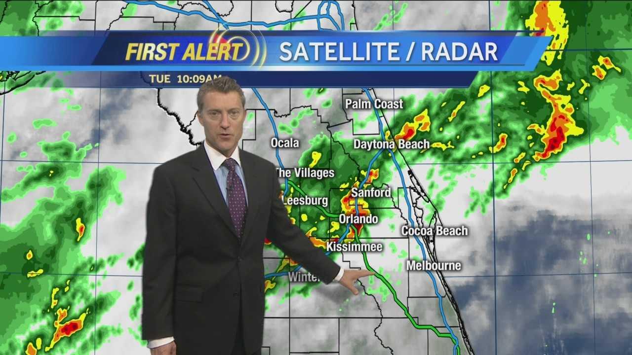 WESH 2 First Alert Meteorologist Jason Brewer has your forecast.