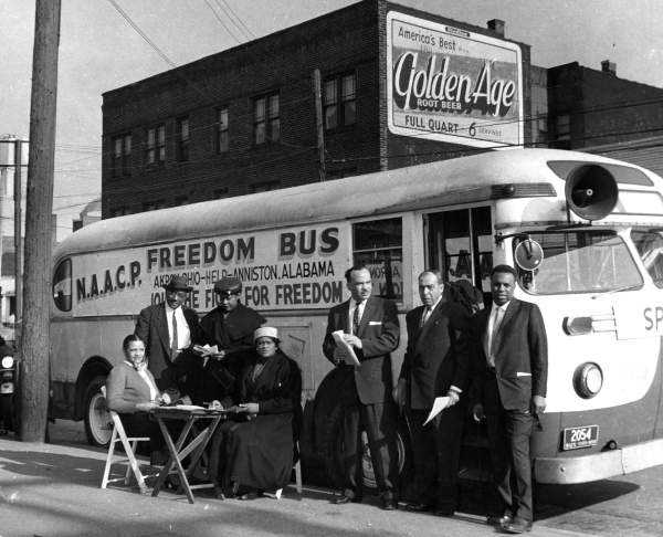 Freedom Riders were civil rights activists who rode interstate buses into segregated Southern states in 1961 and following years to challenge the non-enforcement of United States Supreme Court decisions, which ruled that segregated public buses were unconstitutional.
