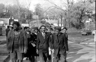 Tallahassee Civil Rights March in 1971.
