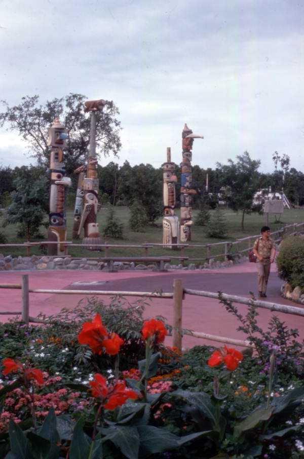 Totem poles in 1975