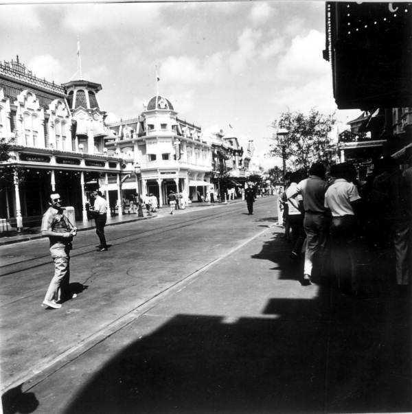 Main Street U.S.A. in 1971