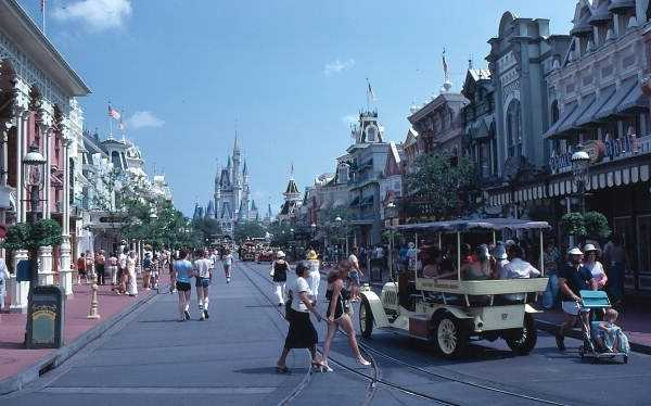 See what Disney World's Magic Kingdom looked like in the first 10 years of its opening. How many things can you spot that are no longer there?