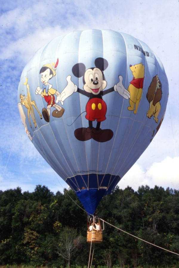 Hot air balloon at Magic Kingdom