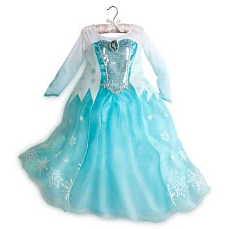 Are you the Disney fanatic in your family or are shopping for one this year? Here are the most popular holiday gifts from Disney. See more here.From Frozen - Elsa costume.