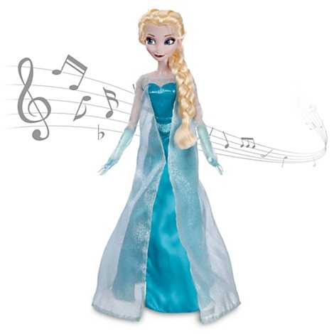 From Frozen - Elsa Singing Doll.