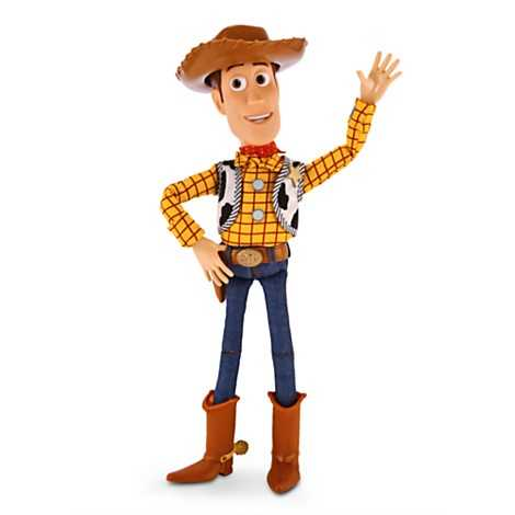 From Toy Story - Woody talking figure.