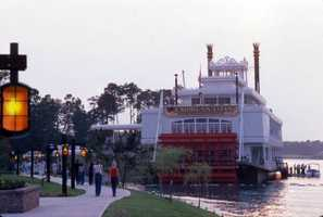 Empress Lilly restaurant in 1977