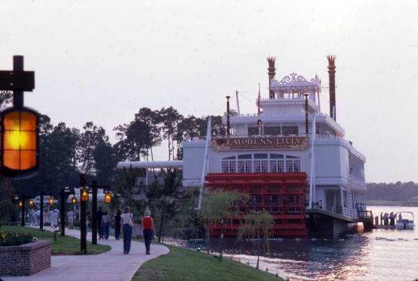 Empress Lilly restaurant in 1977