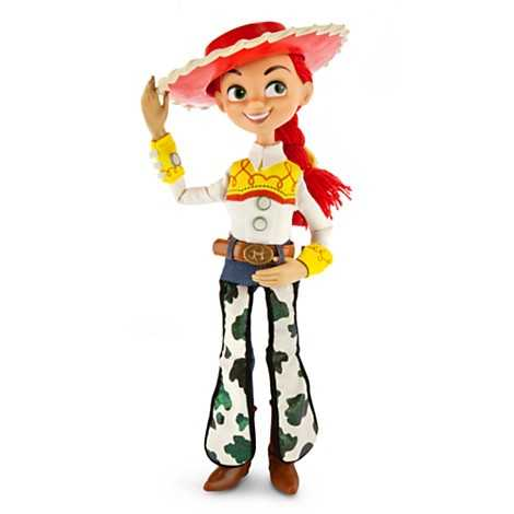 From Toy Story - Jessie talking figure.