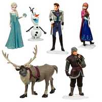 Frozen figure play set.