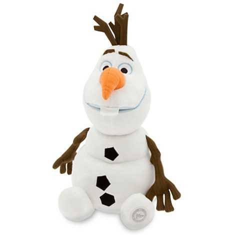 From Frozen - Olaf Plush.
