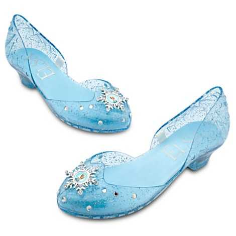 From Frozen - Elsa costume shoes.