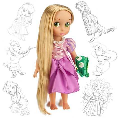 Disney Animators' Collection Rapunzel doll.