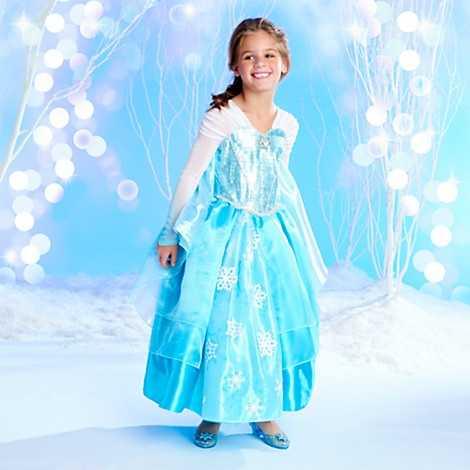 From Frozen - Elsa deluxe costume.