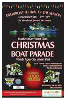 1. Riverfront Festival of the SeasonWhen: Sat., 5 p.m. - 9 p.m.Where:Riverfront Park, Daytona Beach,Beach Street and Magnolia AvenueEnjoy local dance group performances, music, food, entertainment, and photos with Santa. It's the perfect place to watch the Halifax River Yacht Club's Christmas Boat Parade.