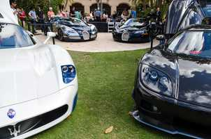 5.9th Annual Festivals of Speed at the Ritz-Carlton OrlandoWhen:Sun., 10 a.m. - 4 p.m.Where:The Ritz-Carlton,4012 Central Florida Pkwy.,Orlando, FL 32837Cost:$10The luxury lifestyle display will showcase over 300 exotic cars, motorcycles, watercraft, and aircraft. The Festivals of Speed show field has become known for its unique diversity, showcasing both vintage and contemporary vehicles of all makes and models. Guests will experience automotive designs by Porsche, Ferrari, Rolls-Royce, Aston-Martin, BMW, Mercedes, McLaren, and more and while encountering fine wines, exciting culinary offerings, robust cigars, smooth jazz in the gardens, and luxury lifestyle displays featuring fine jewelry and timepieces. For more information, visit www.festivalofspeed.com
