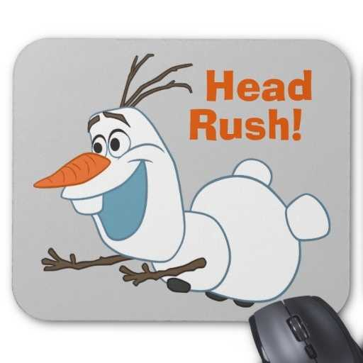 Olaf mouse pad - $12.95