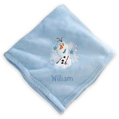 Olaf throw blanket - $10
