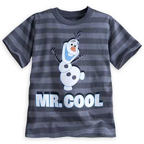 Olaf striped tee for boys - $19.95