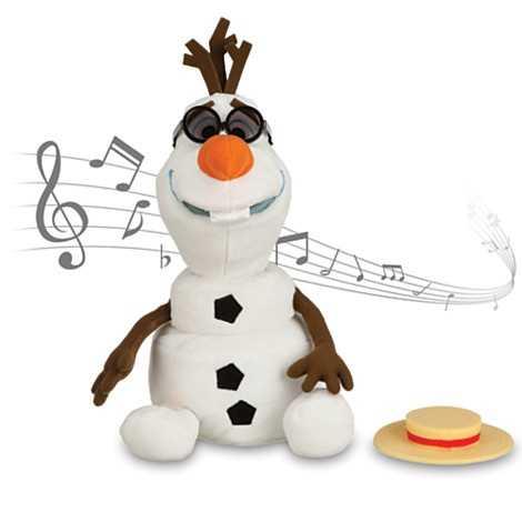 Olaf singing plush toy - $29.95