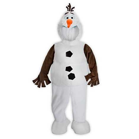 "Having trouble finding a gift for someone this year? Everyone loves Olaf from ""Frozen""! See some of the offerings at the Disney Store.Olaf plush costume for kids - $39.95"