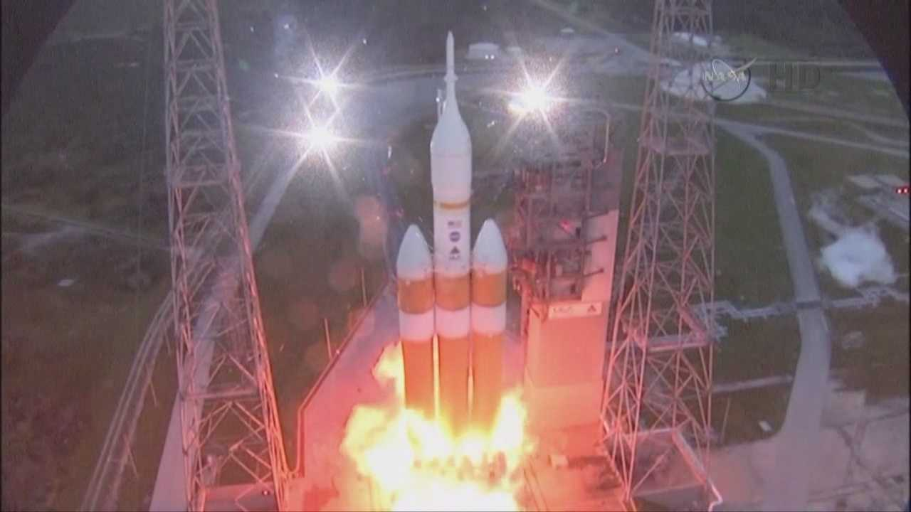 NASA's Orion spacecraft successfully launched from Cape Canaveral and landed in the Pacific Ocean on Friday morning.