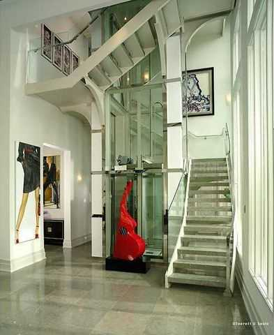 Would like to take the stairs or elevator?