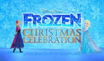 "The ""2014 Disney Parks Frozen Christmas Celebration"" was taped Dec. 8-9 at Magic Kingdom Park. Several big-name acts took the stage during the shoot, including Robin Roberts, Ariana Grande, Alex & Sierra of ""The X Factor USA,"" Prince Royce, Tim Tebow and Miss America 2015.The annual holiday special will air nationwide Dec. 25 at 10 a.m. EST and 9 a.m. CST, MST and PST on ABC-TV.All photos courtesy of Disney photographer Mark Ashman."