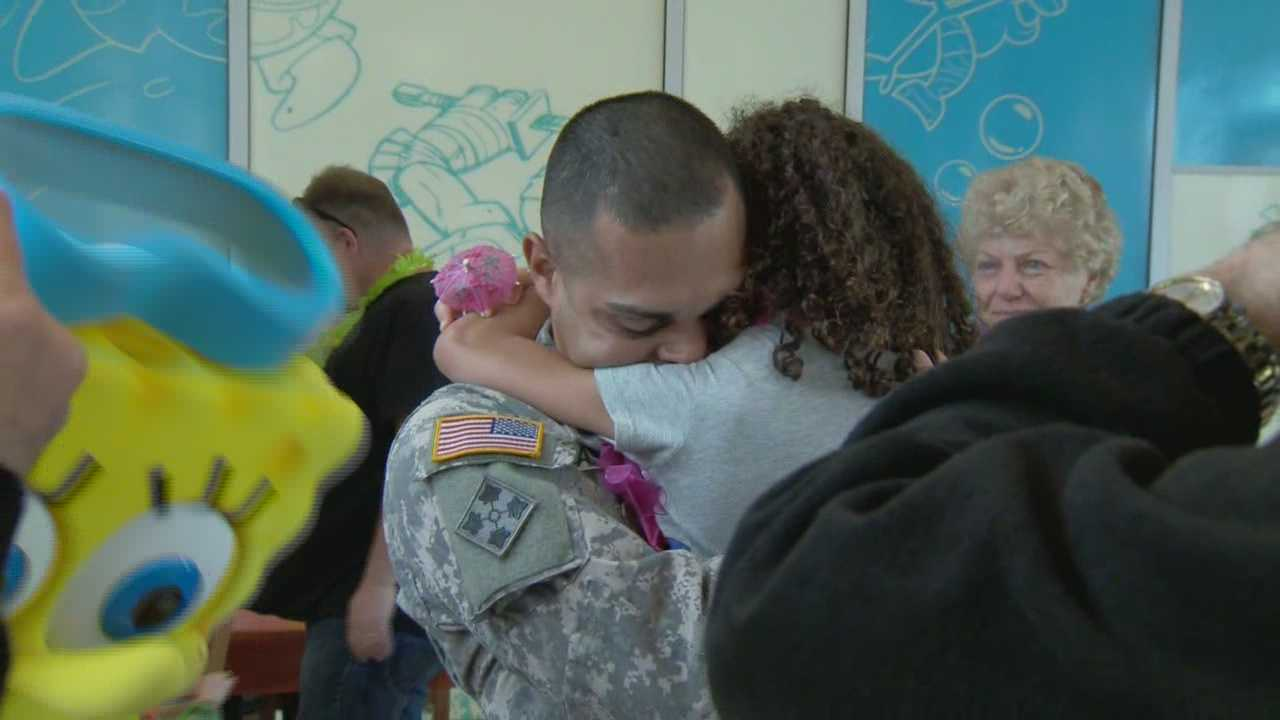 Many kids wish for toys, bikes or games for their birthdays. But one girl from Central Florida wanted her dad to come home from Afghanistan more than anything.