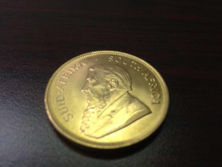 Krugerrand worth $1,300