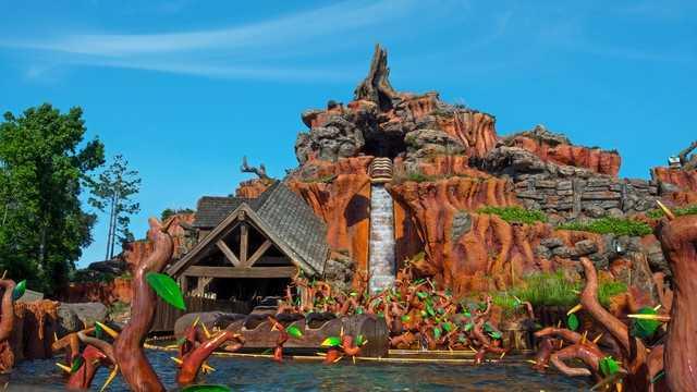 Splash Mountain opened in July 17, 1992.