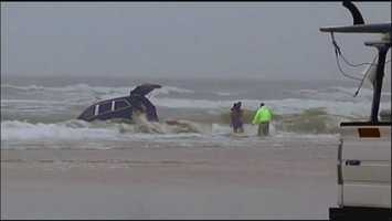 2. Mom who drove van into ocean talked about demons hours before, family says - Daytona Beach police interviewed the pregnant mother who drove her van with her three children inside into the ocean hours before the incident, according to a report. (Read story)