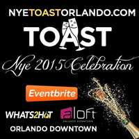 9. Aloft Orlando and Whats2Hot.com New Year's Eve ToastThe W-XYZ lounge and patio will be decked in champagne-inspired decor with six fully staffed bars and music provided by Bear Karry. Cost: $40 general admissionVIP includes unlimited liquor, wine and beer until 1 a.m., plus a private lounge with a champagne fountain, seating, hors d'oeuvres and special musical entertainment - $150 per person, $250 per coupleAddress: 500 S. Orange Ave., Orlando, FL 23801