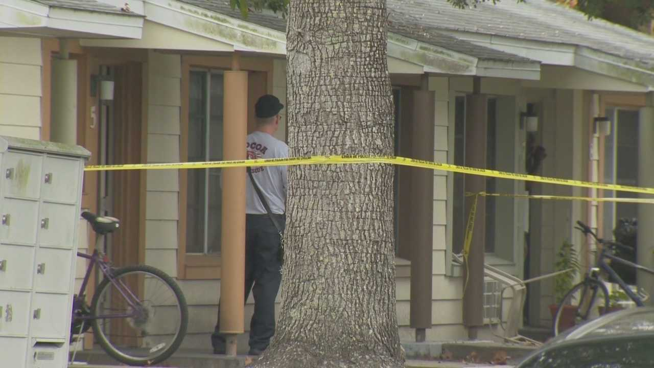 A Brevard County Sheriff's Office deputy fatally shot an armed, wanted man at a Cocoa apartment complex Friday afternoon, Brevard County Sheriff Wayne Ivey said.