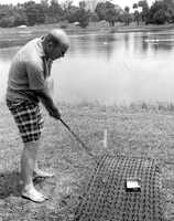 1975 - Golfing at the Maitland Festival
