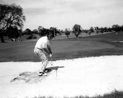 1977 - Golfer in Dunedin