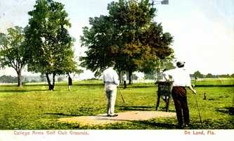 Early 1900s - College Arms Golf Club grounds in DeLand