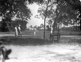 Early 1900s - Daytona Highlands golf club