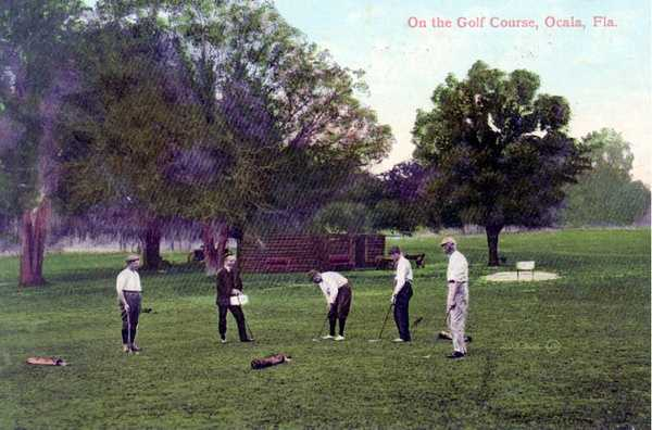 Early 1900s - Golf in Ocala