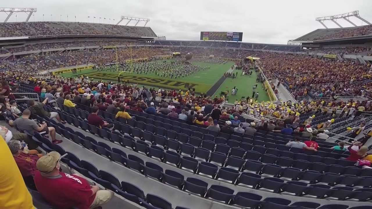 The Missouri Tigers took on the Minnesota Golden Gophers at the Buffalo Wild Wings Citrus Bowl on New Year's Day.
