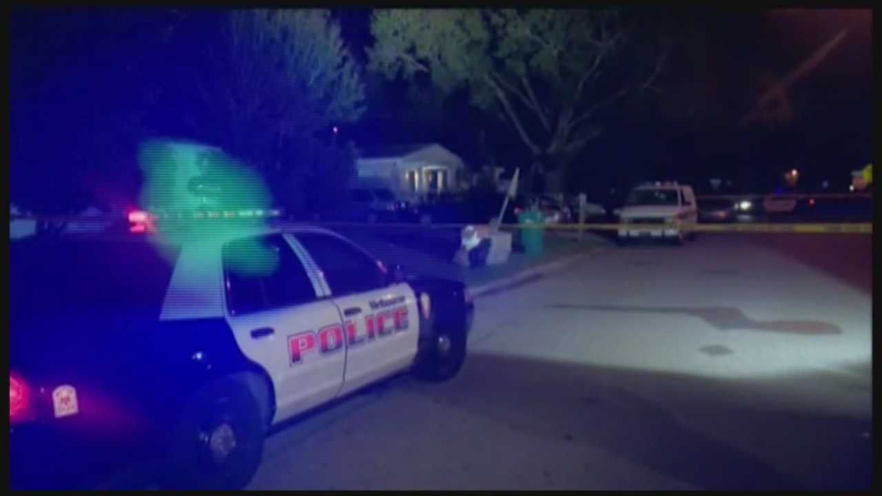 One person was killed and another was injured after shots were fired into a home with several people inside early Monday morning, police said.