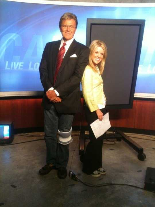 10. People are surprised to learn I'm only 5'2. I stand on a box when I'm with my co-anchors.