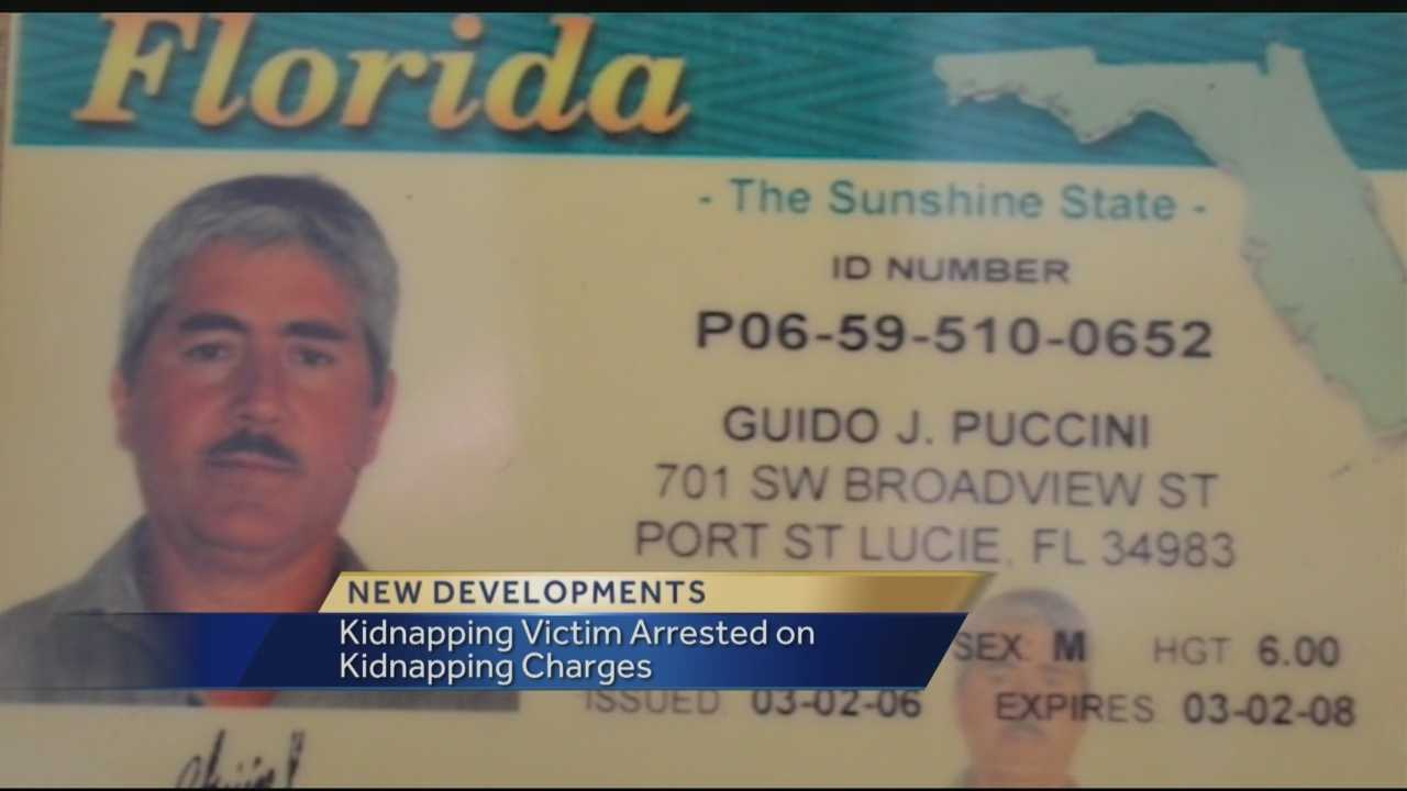 A man who was kidnapped with his wife from his home in November is facing his own legal problems. When Port St Lucie police investigated the kidnapping of the couple from their home in November, they had no idea that evidence found there would reveal that the husband was living under an alias and was wanted on a child sex conviction in Arizona 22 years ago.