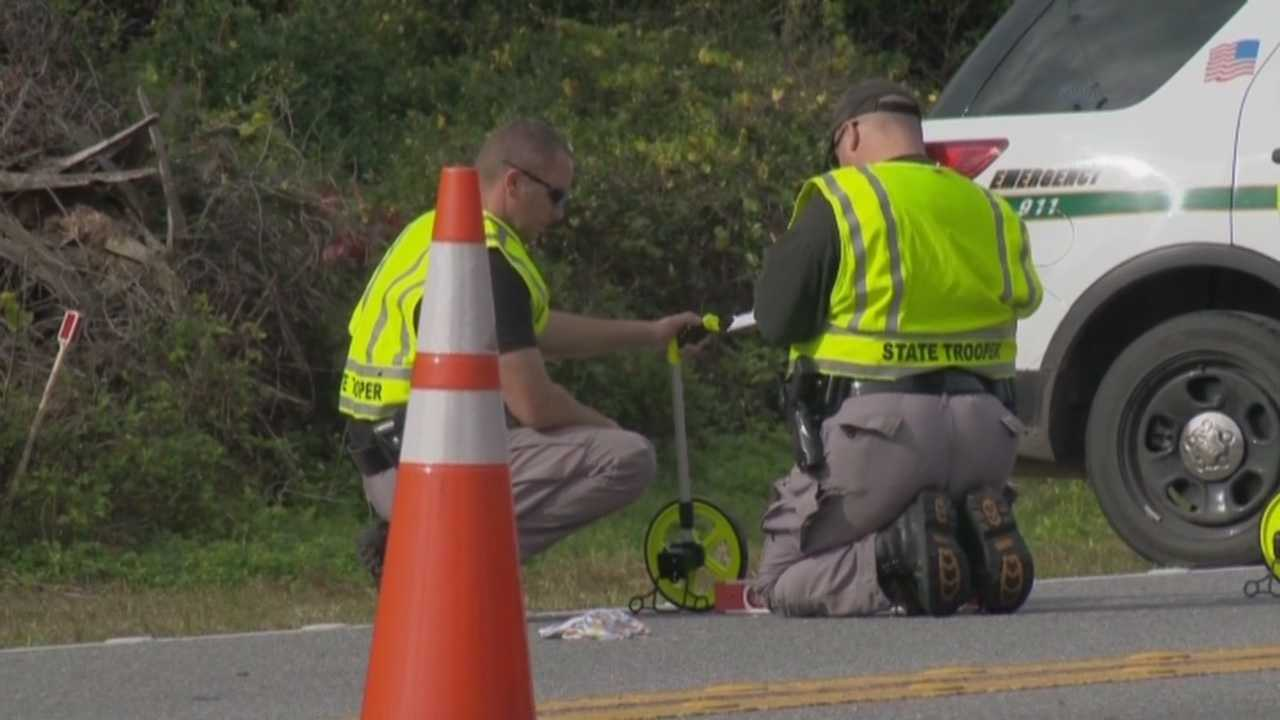 A child died after being struck by an SUV on State Road 46 in Geneva, according to the Florida Highway Patrol.