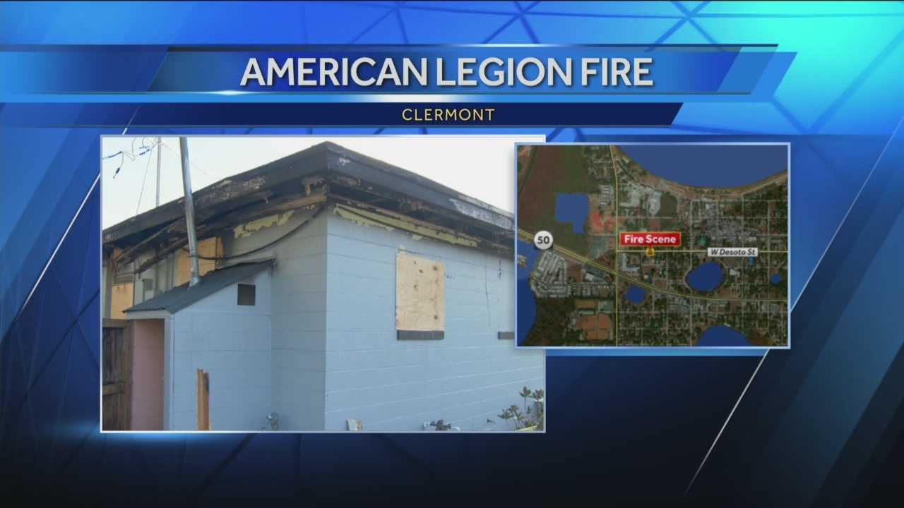 The Florida state fire marshal is investigating a fire that caused extensive damage to a local American Legion post.
