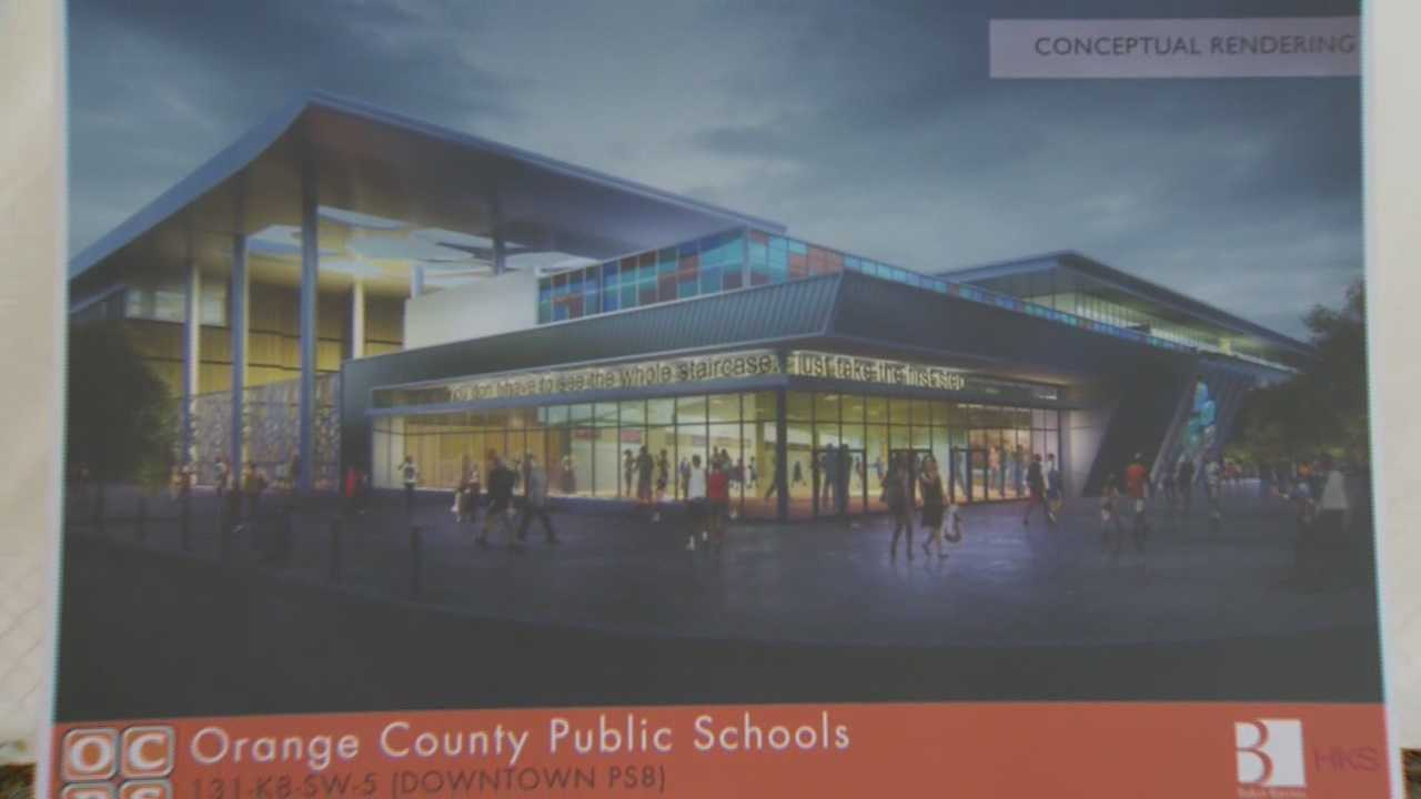 Orange County breaks ground for a pre-school through 8th grade facility in the Parramore neighborhood of downtown Orlando